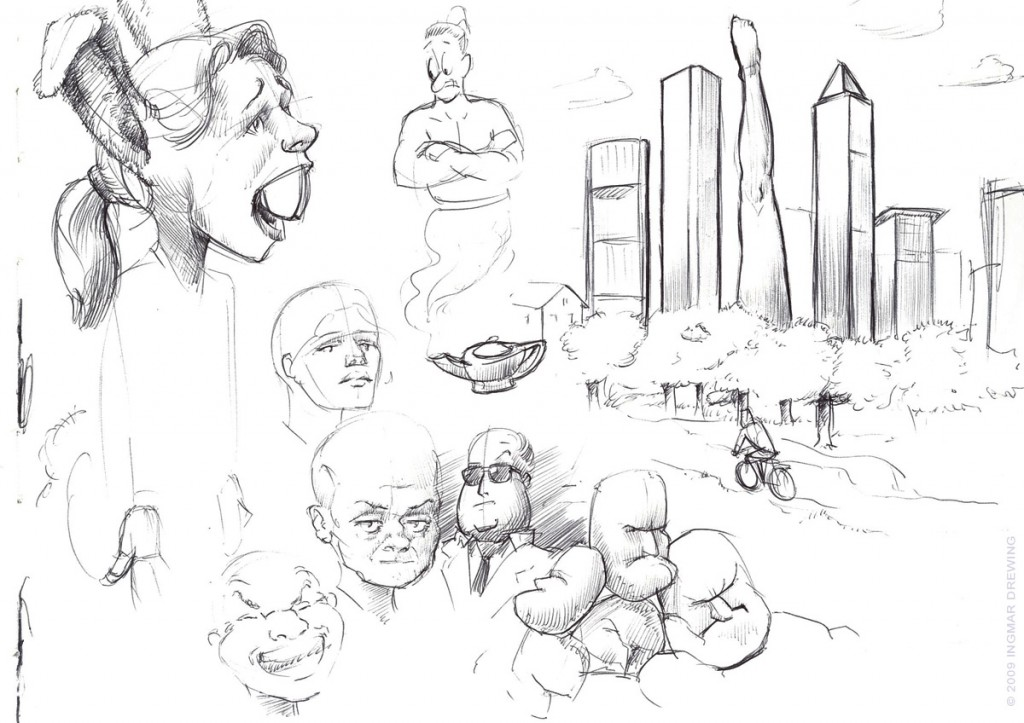 Nightly Sketch Nr. 3