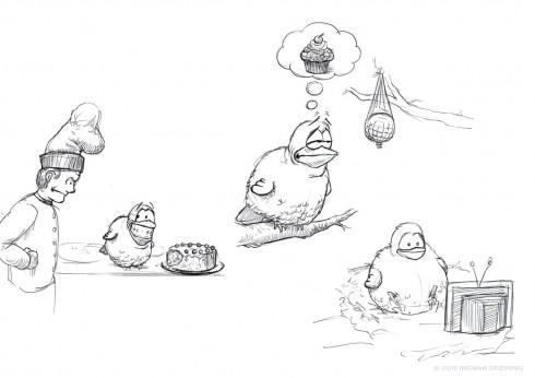 NIghtly Sketch Nr. 42