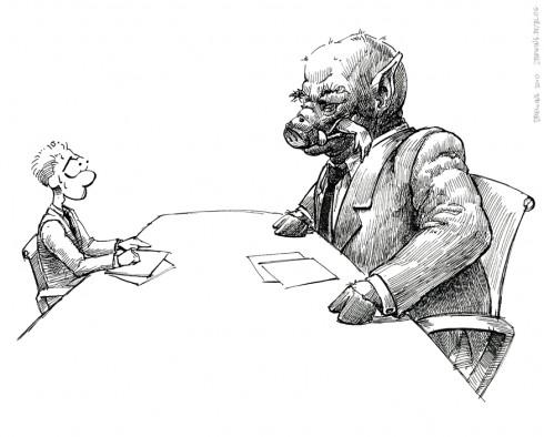 Negotiation, (c) by Ingmar Drewing