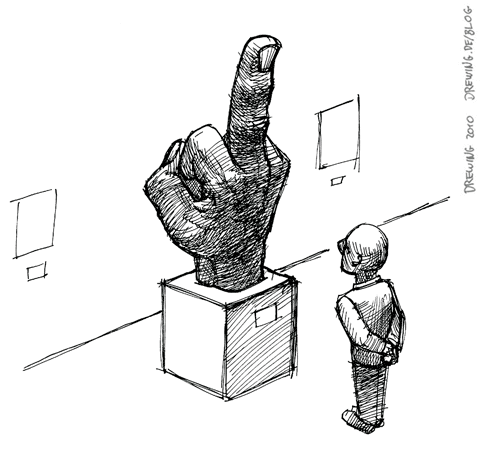 Au Musée, (c) 2010 Ingmar Drewing