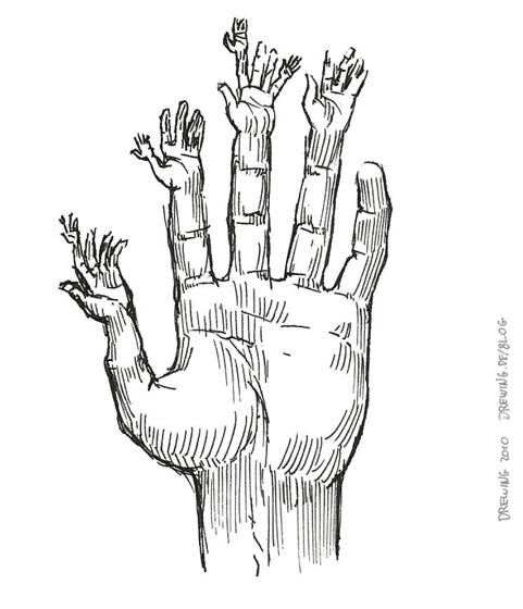 Fractal Anatomy, (c) 2010 Ingmar Drewing