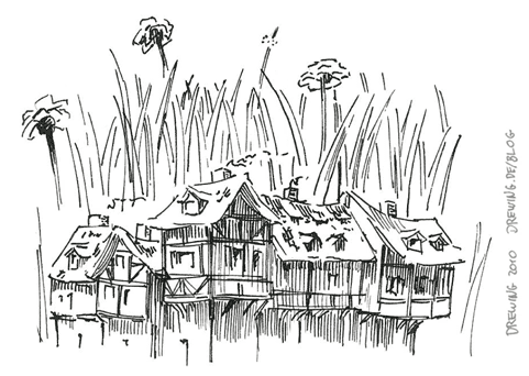 Small Village, (c) 2010 Ingmar Drewing