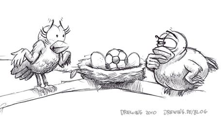 Strange Egg, (c) 2010 Ingmar Drewing