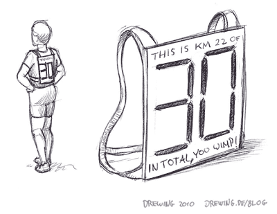 The Marathon Display, (c) 2010 Ingmar Drewing
