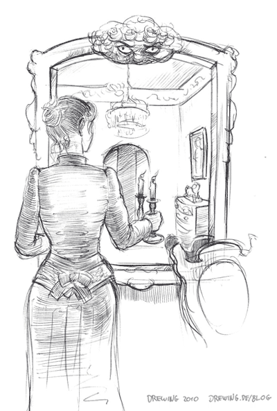 Mirror, (c) 2010 Ingmar Drewing