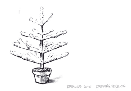 Basmati Christmas Tree, (c) 2010 Ingmar Drewing