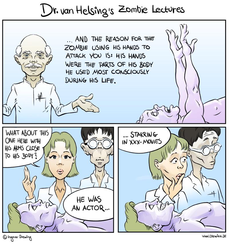 Dr. van Helsing's Zombie Lectures