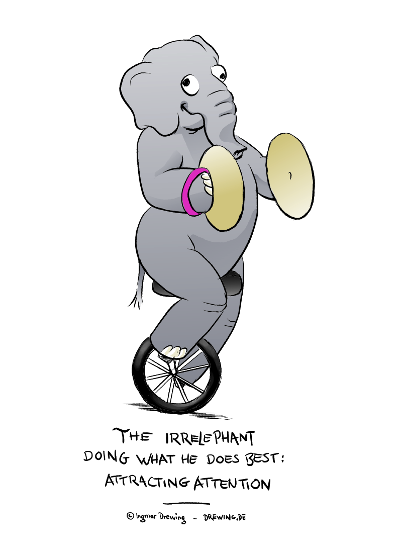 The Irrelephant - Corporate Fauna