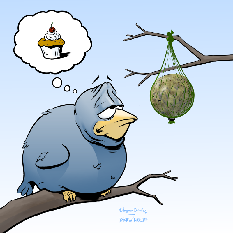 hungry birds - (c) Ingmar Drewing 2014