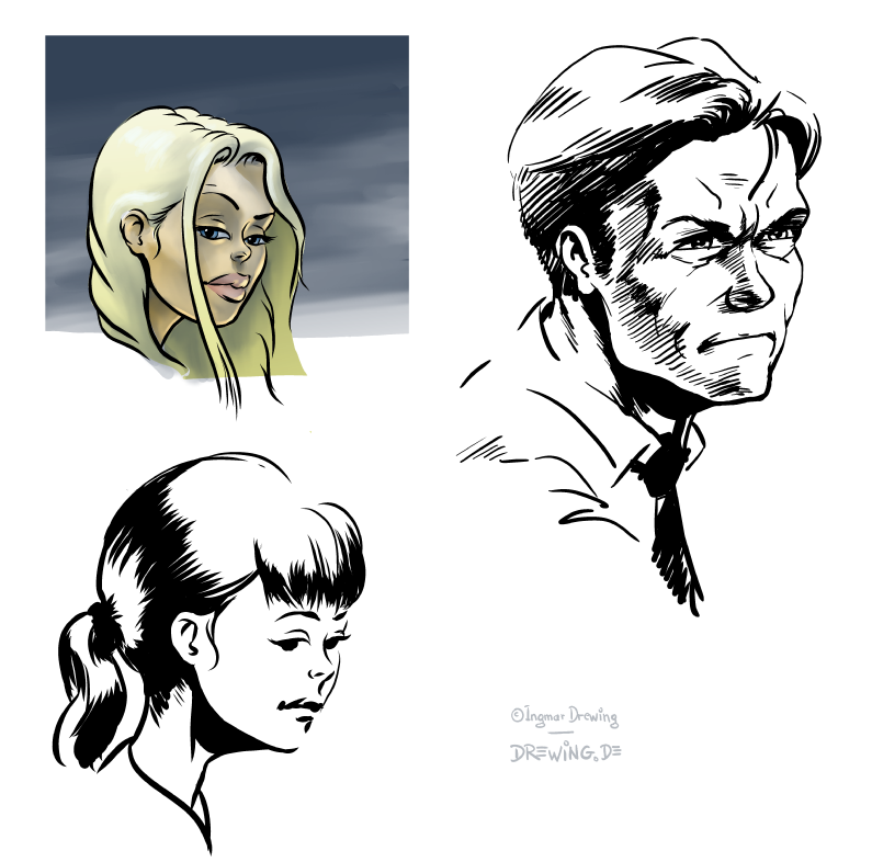 Sketches, Heads