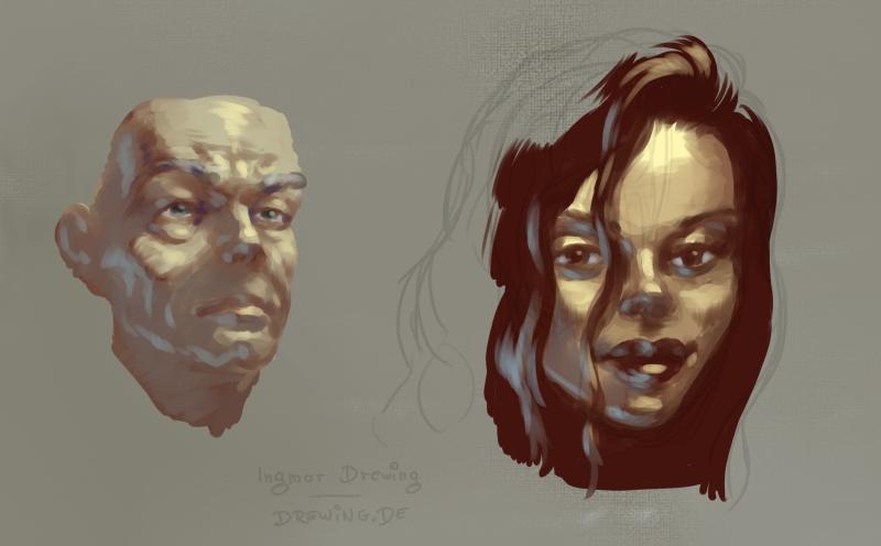 digital impasto, painting, drawing, mangastudio 5