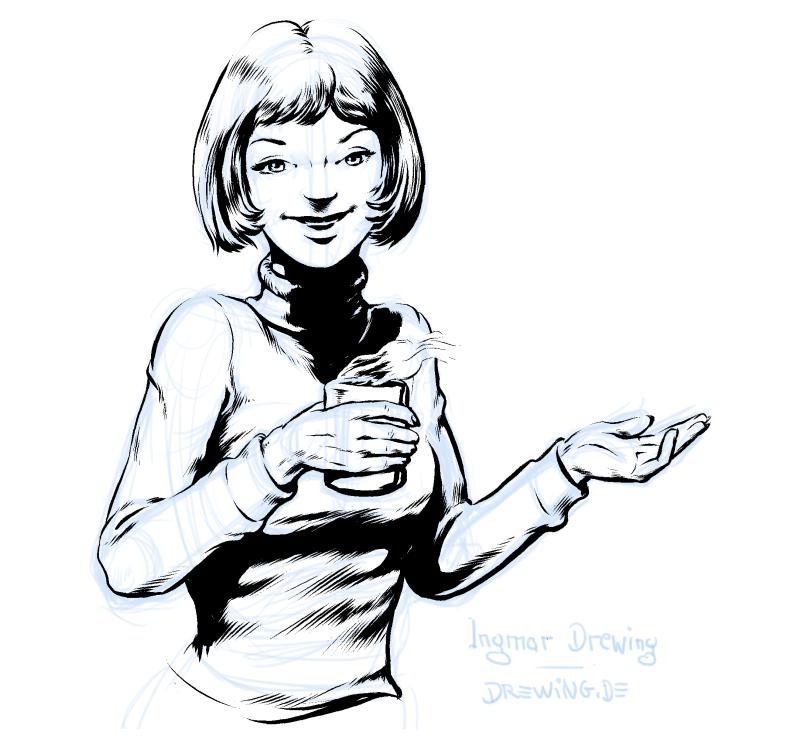 tee_drinking_girl_sixties_look