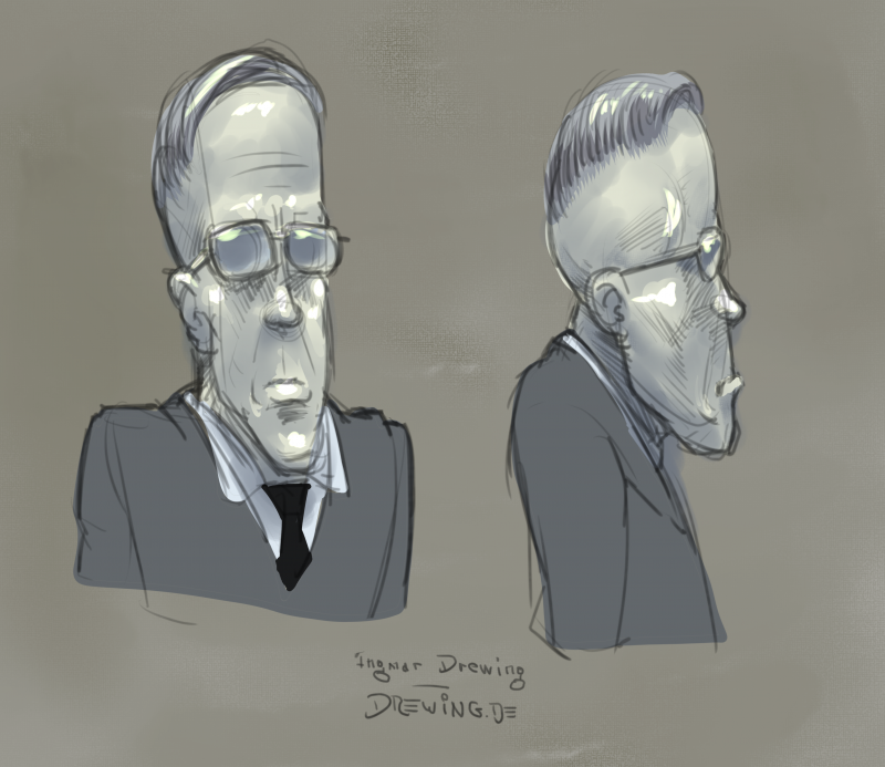 character design, concept art, drawing, comic, Ingmar Drewing