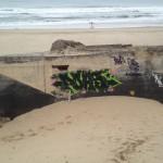 Soulac-sur-mer bunker graffiti
