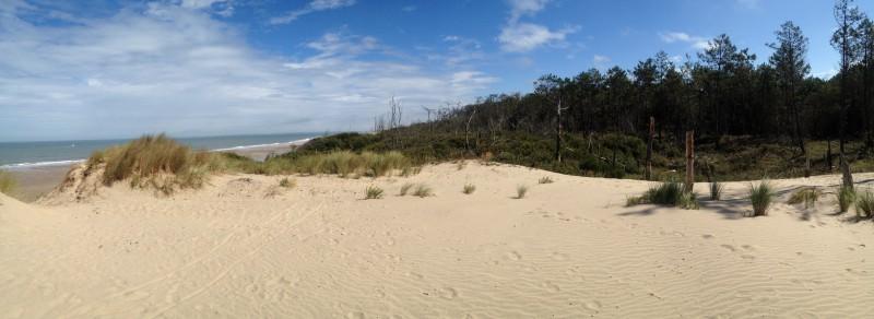 soulac-sur-mer, dunes