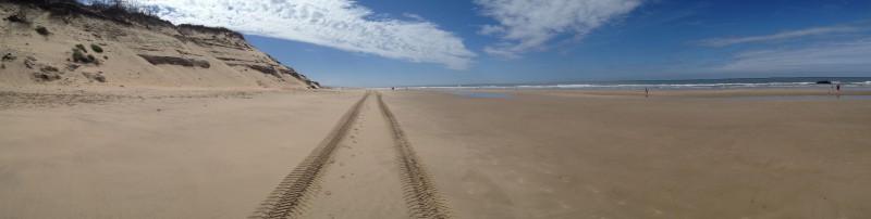 Soulac-sur-mer, beach pano
