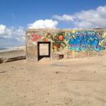 Soulac-sur-mer, bunker, graffiti