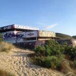Soulac-sur-mer, bunker, fort des arros, graffiti