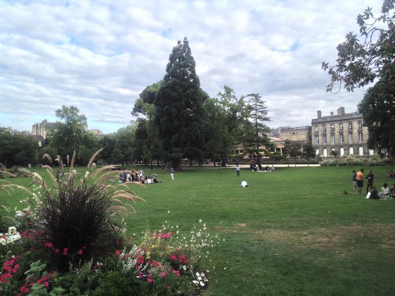 Bordeaux, park