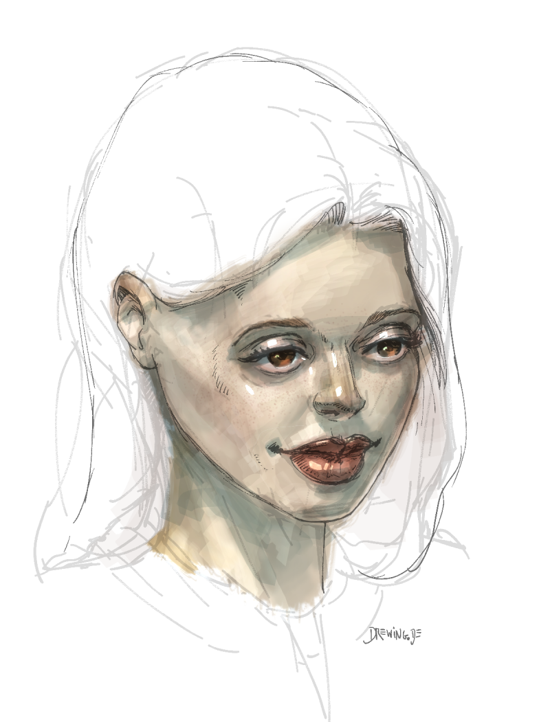 Drawing / Painting by Ingmar Drewing, digital art made with Clip Studio Paint